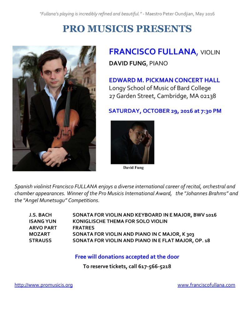 Francisco Fulliana flyer