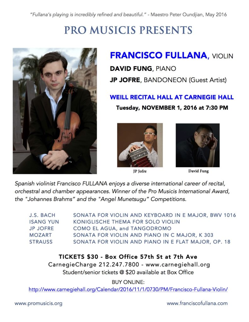 Francisco Fulliana flyer