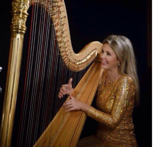 Katerina Englichova, Harpist
