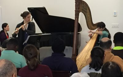 Mozart Concerto for Flute, Harp, and Orchestra at Lighthouse Guild International