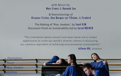 """Plastic, Coral, Ice and Earth"": An Interactive Dance Production and Open Panel"