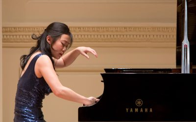 Juliann Ma at Carnegie Hall